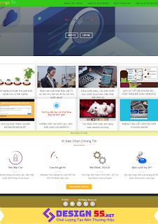 Template blogspot miễn phí ( Blog design 5s ) 2019
