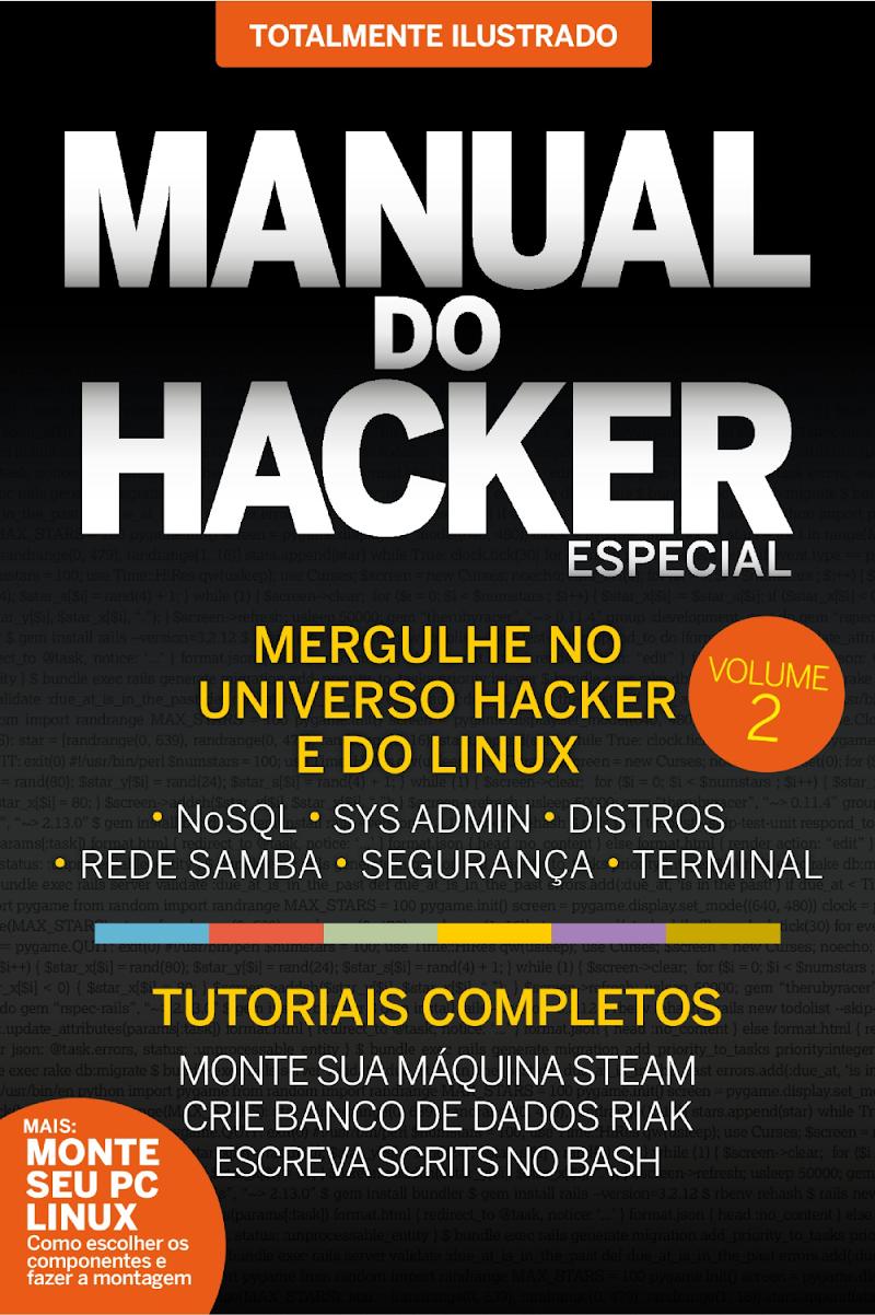 Manual do Hacker Especial Julho de 2019 edição 1 e 2 Download Grátis