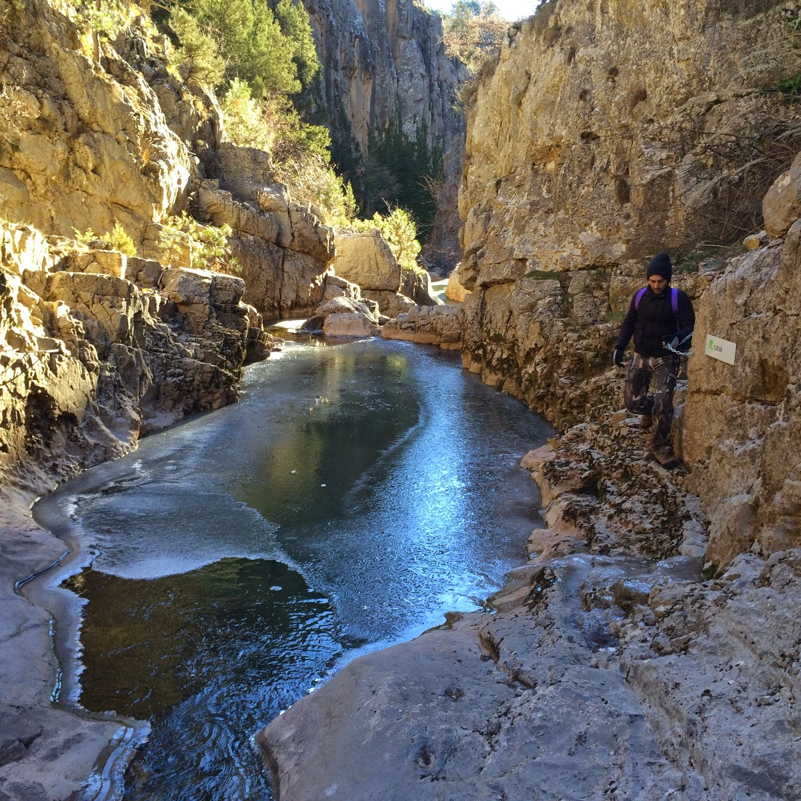 Hidrologia Y Conservacion Estrechos De La Hoz - Estrechos