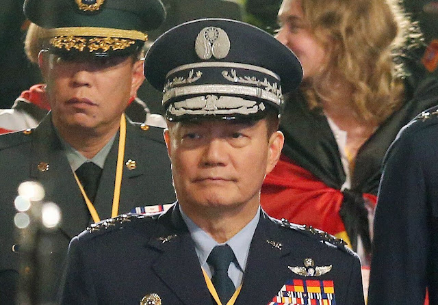 Deputy Defense Minister and Chief of General Staff of Taiwan Shen Yi-Ming died in a helicopter crash