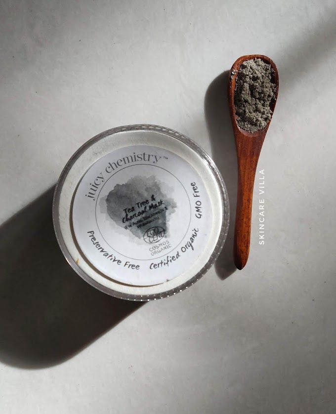 Juicy Chemistry Tea Tree and Charcoal Mask Review