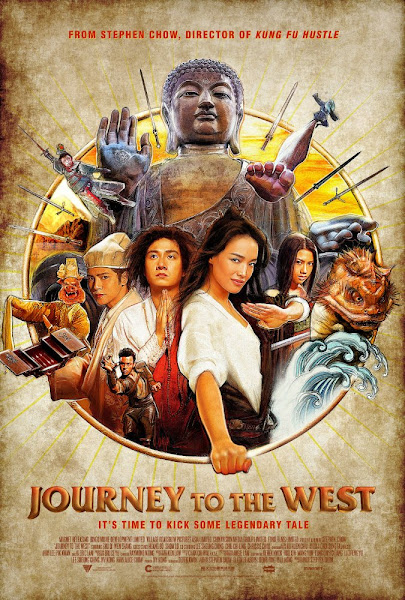 Poster Of Journey to the West 2013 720p Hindi BRRip Dual Audio Full Movie Download