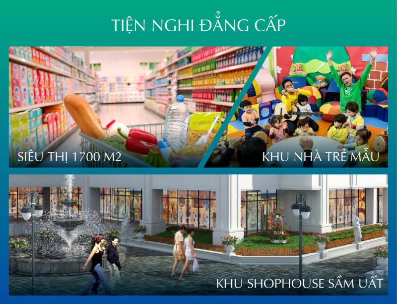 Không gian sống tiện ích tại chung cư Bel Air Hà Nội