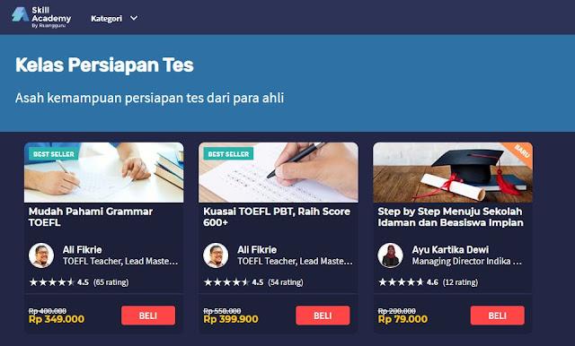 Belajar Online untuk Menaklukan Test TOEFL: Raihlah Score Diatas 600++