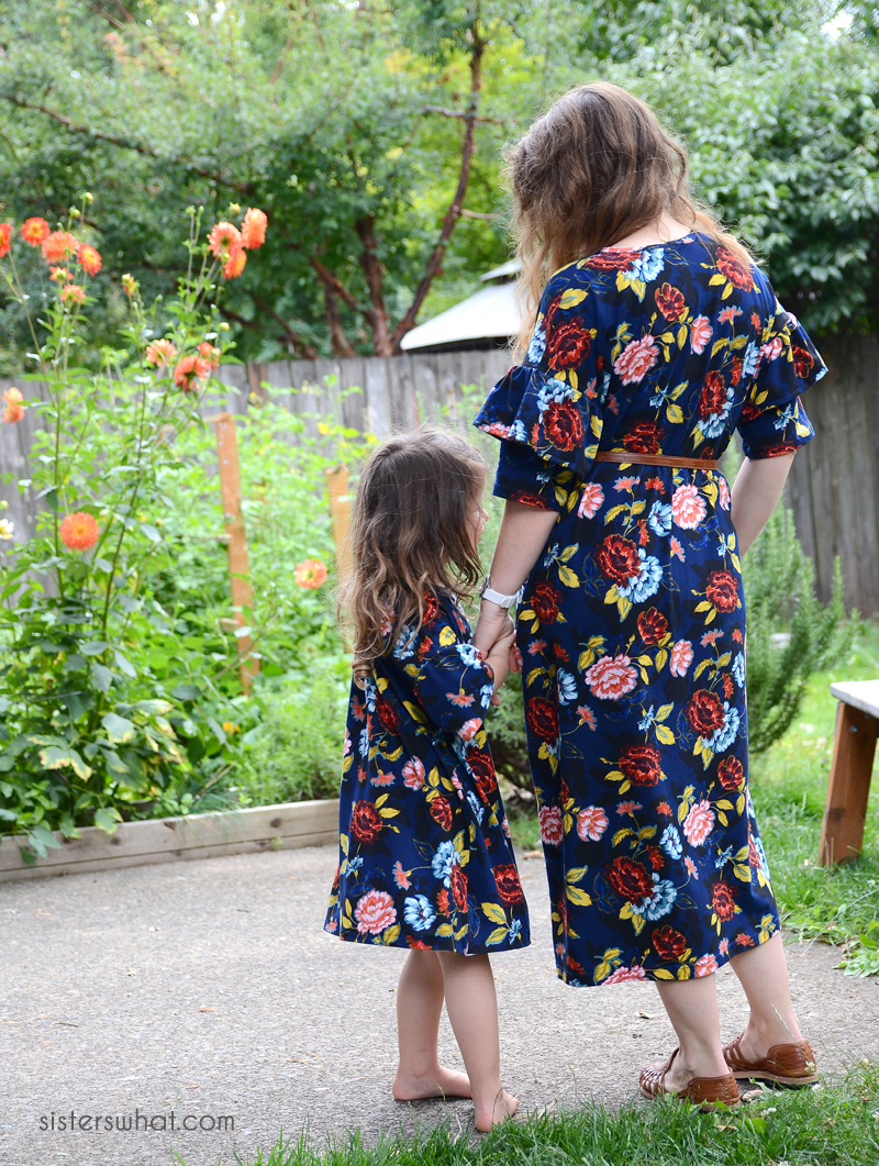 mommy and me dress sewing tutorial