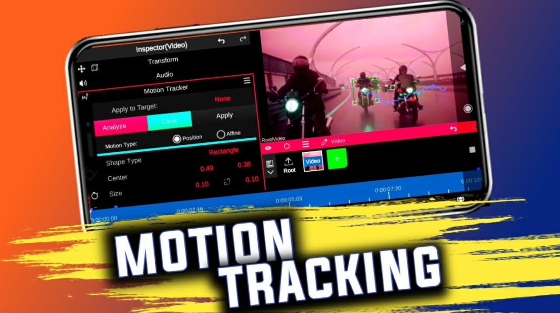 how to motion track in capcut