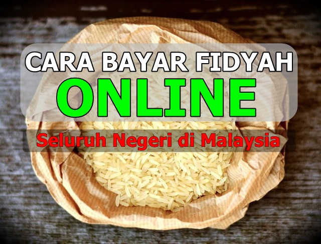 Cara Bayar Fidyah Online Seluruh Negeri di Malaysia