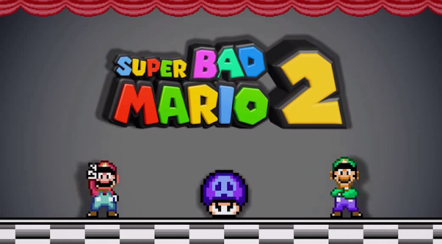 Super Bad Mario 2 - Fail Compilation