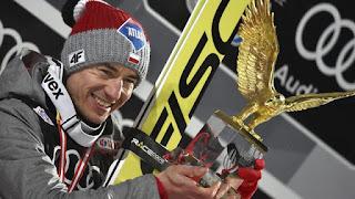 SALTOS DE ESQUÍ - Tande la lía y Kamil Stoch se convierte en el segundo polaco campeón del Cuatro Trampolines