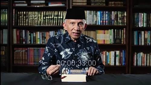 Amien Rais Kembali Sentil Jokowi: Ngomong Jujur Apa yang Terjadi di Indonesia