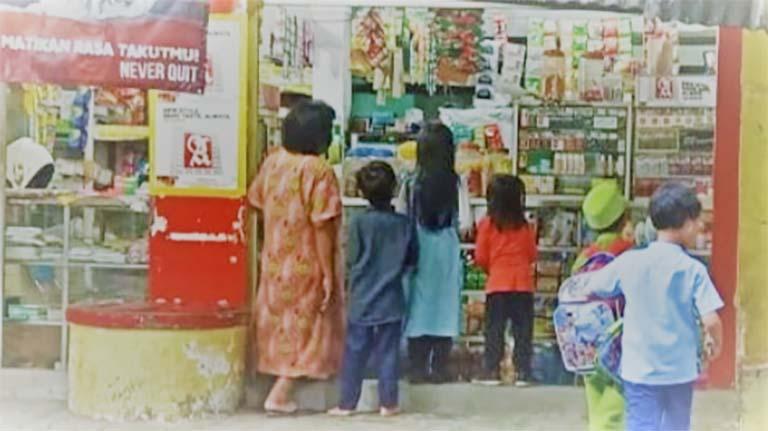 cara suruh anak belanja ke warung