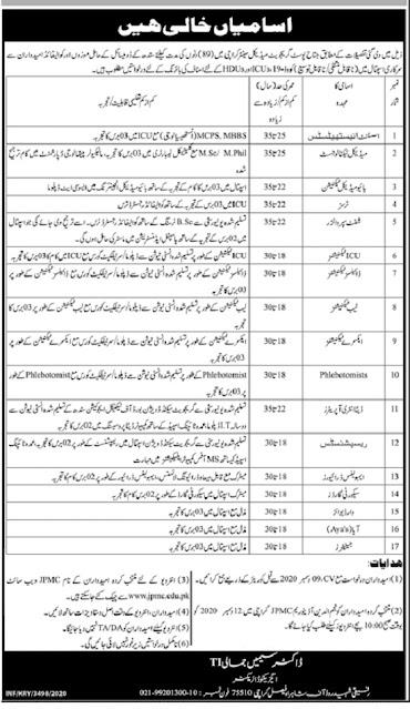 jpmc-karachi-jobs-2020-jinnah-postgraduate-medical-centre