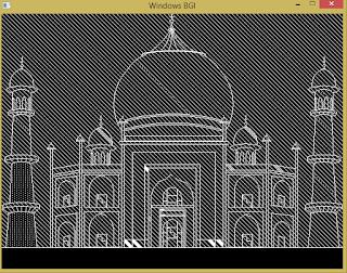 [Lập trình đồ họa máy tính cơ bản] Vẽ đền Tajmaha bằng ngôn ngữ C++