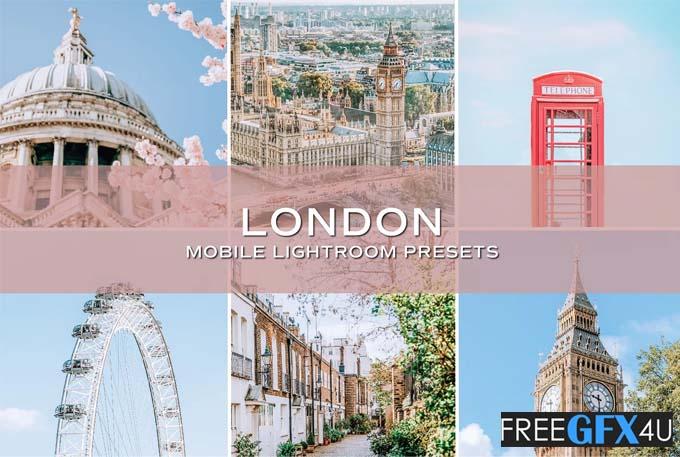 5 London Lightroom Presets