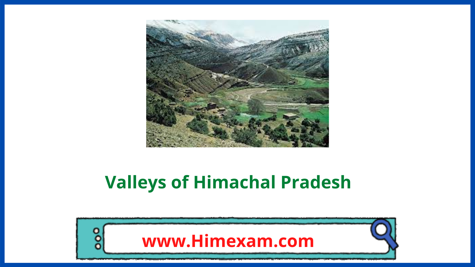 Valleys of Himachal Pradesh