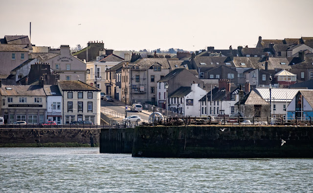 Photo of Shipping Brow, Maryport, from the basin