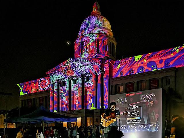 Tour du lịch nước ngoài 3 ngày 2 đêm: Lễ hội ánh sáng đêm Singapore