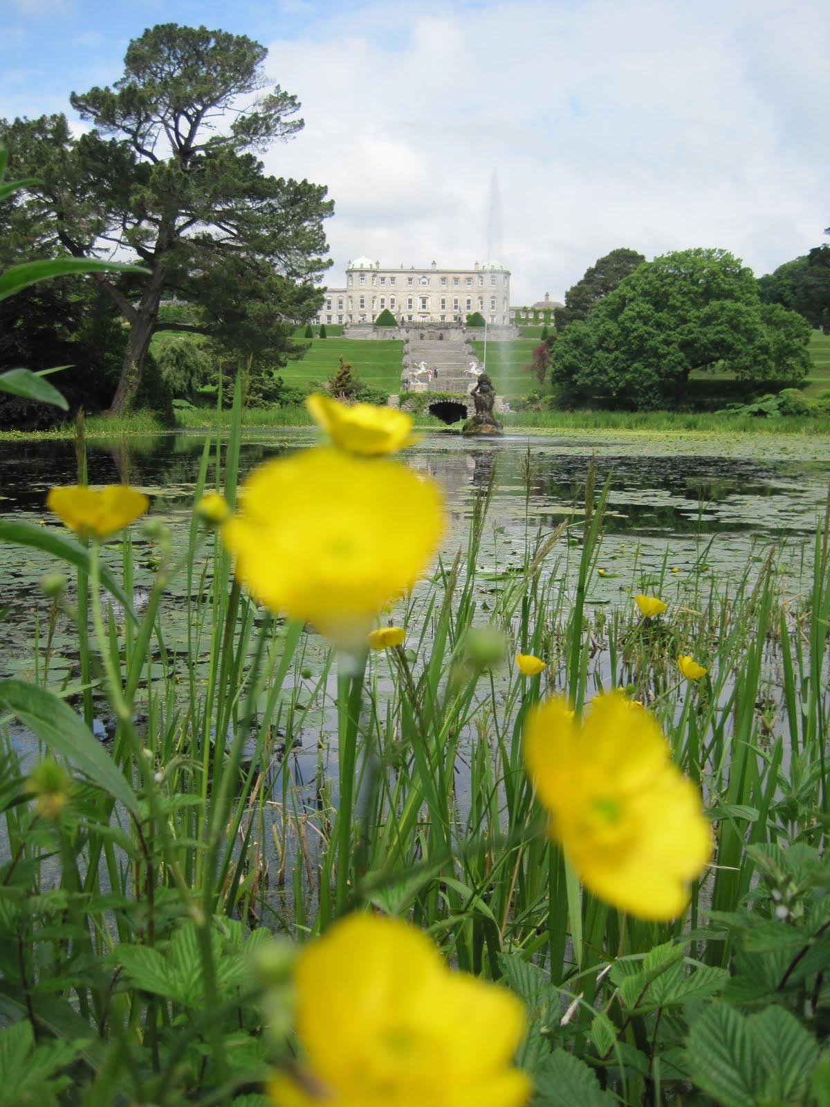 fotos powerscourt gardens irland