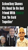 Schoolboy Shaves His Head So He And Friend With Cancer Can 'Be Bald Together'