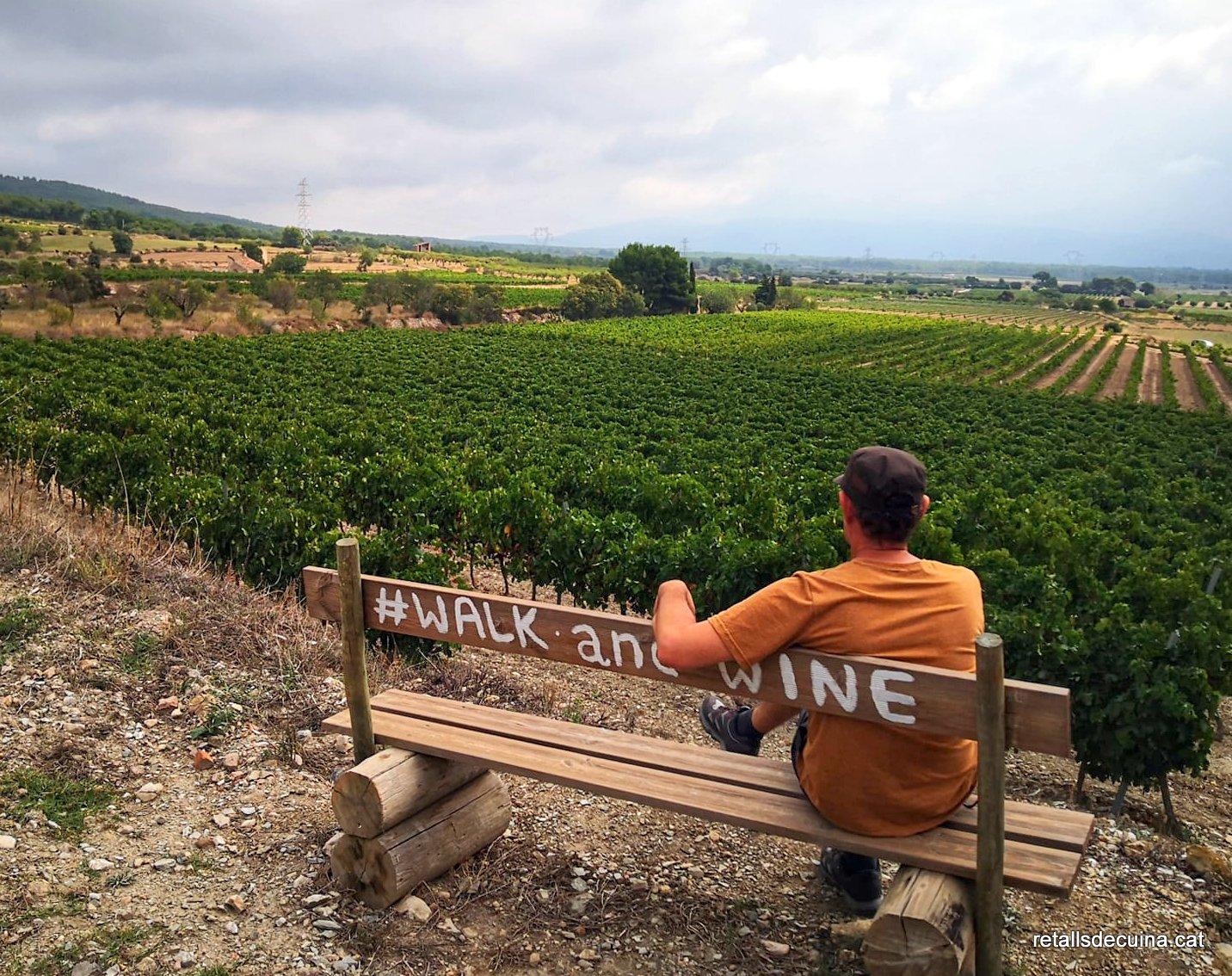 Walk & wine amb Celler Mas Vicenç