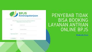 Penyebab Tidak Bisa Booking Layanan Antrian Online BPJS