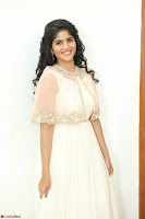Megha Akash in beautiful Cream Transparent Anarkali Dress at Pre release function of Movie LIE ~ Celebrities Galleries 049.JPG