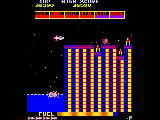 1981. Scramble Arcade