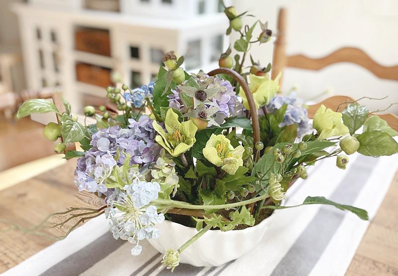 Hydrangea Gardening and a Beautiful Centerpiece