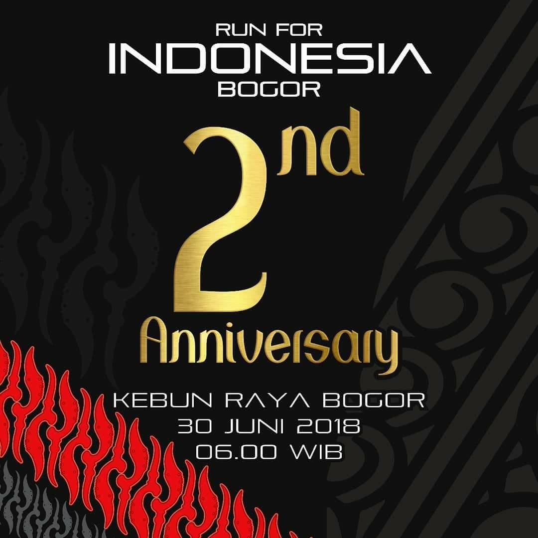 Run For Indonesia Bogor 2nd Anniversary • 2018
