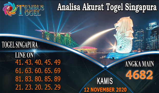Analisa Akurat Togel Singapore Hari Kamis 12 November 2020