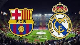 مباراة ريال مدريد وبرشلونة فى الدورى الاسبانى