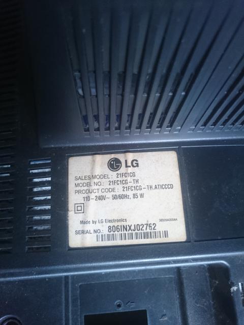 Kerusakan Kontras Layar Rendah TV LG 21FC1CG