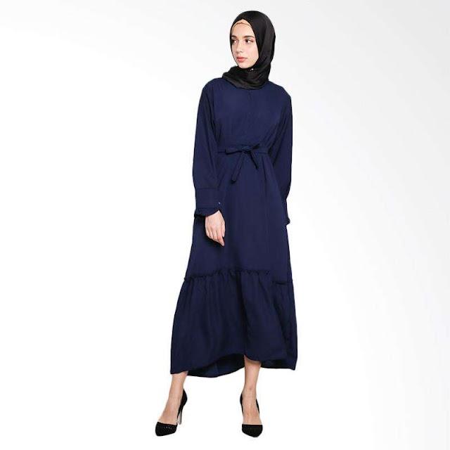 Padukan Baju Gamis dengan Berbagai Model Hijab Trendi