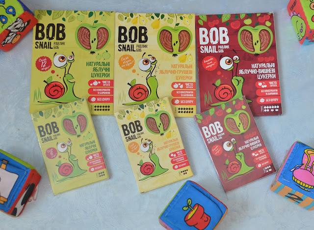 Фруктовые конфеты без сахара BOB SNAIL  \ Fruit candy sugar free