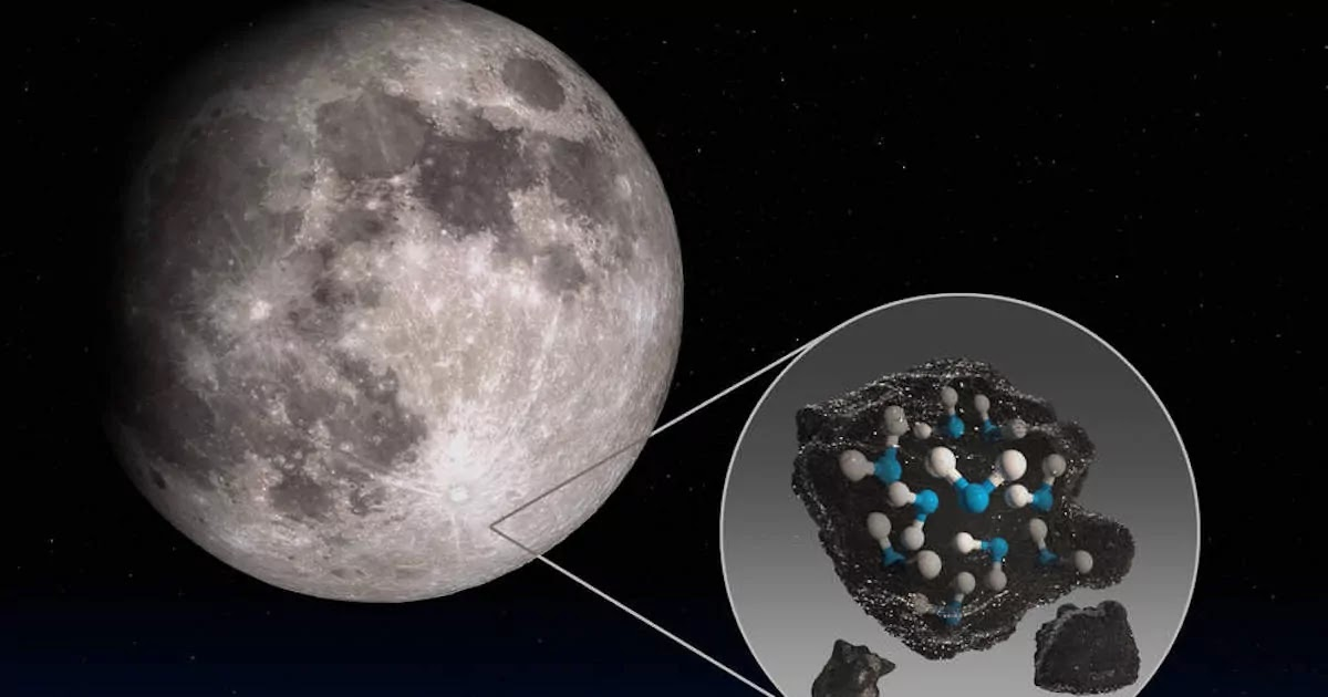 NASA Discovers Water Upon The Surface Of The Moon With Scientists Baffled As To How It Has Been Produced