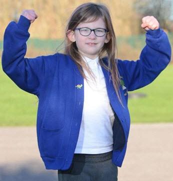 Olivia Farnsworth, 7 Ετών Βιονικό Κορίτσι