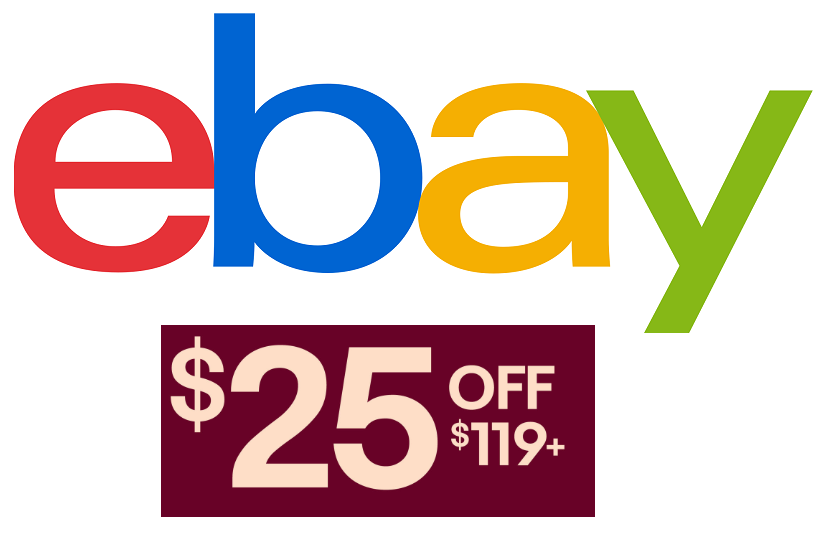 Ebay Coupon 25 Off 119 Or More Ebay Purchase Heavenly Steals