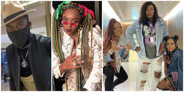 Celebs line up for Omo Ghetto The Saga's private screening dressed like ghetto kings and queens