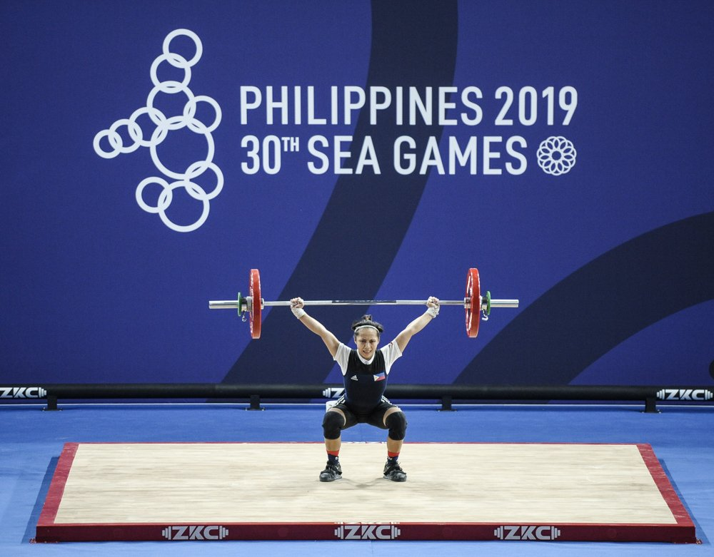 Mary Flor Diaz Got Bronze In Weighlifting 30th Sea Games