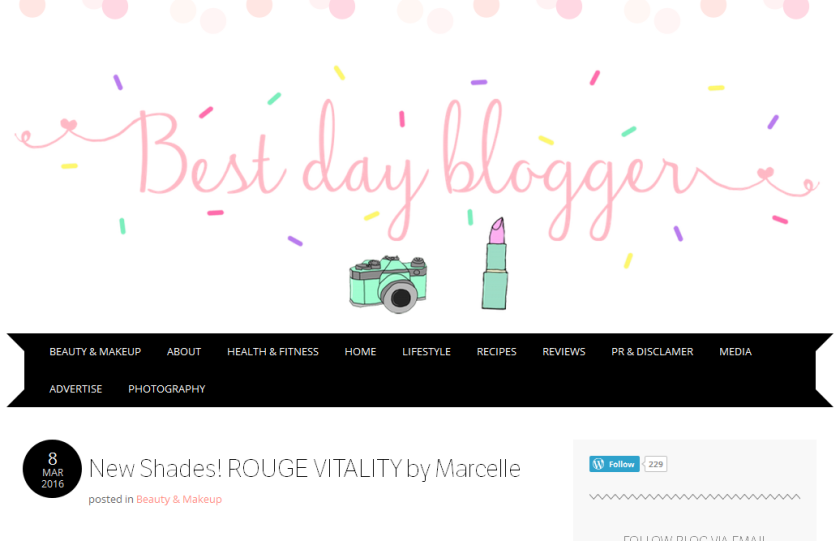 bbloggers, bbloggersca, beauty blogger, blog of the month