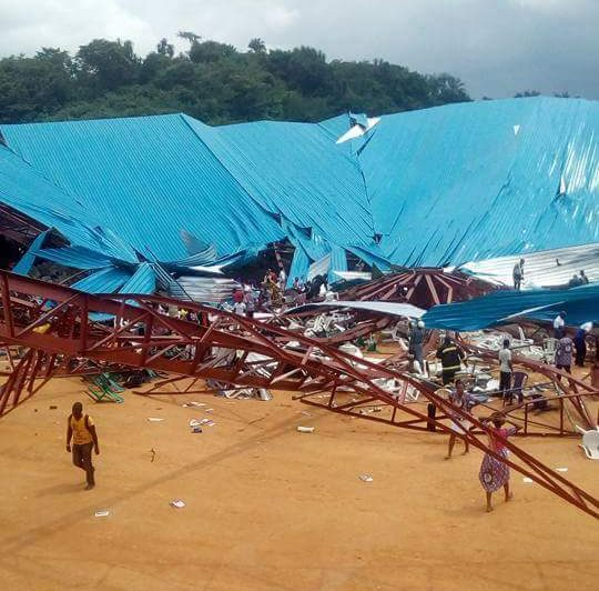 church building collapsed uyo