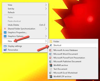 Cara Membuat Tombol ShutDown pada Windows 7