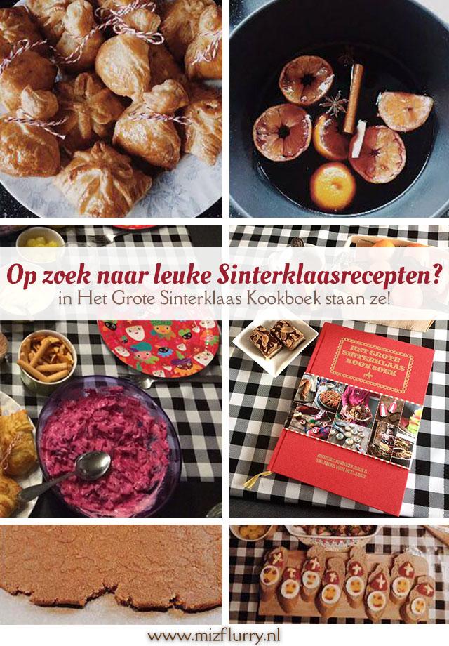 Op zoek naar leuke Sinterklaasrecepten? in Het Grote Sinterklaas Kookboek staan ze!