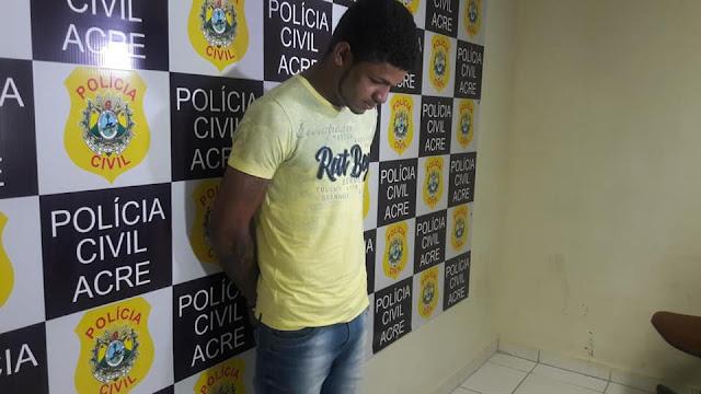 Suspeito de matar estudante do Ifac em assalto é apresentado pela polícia