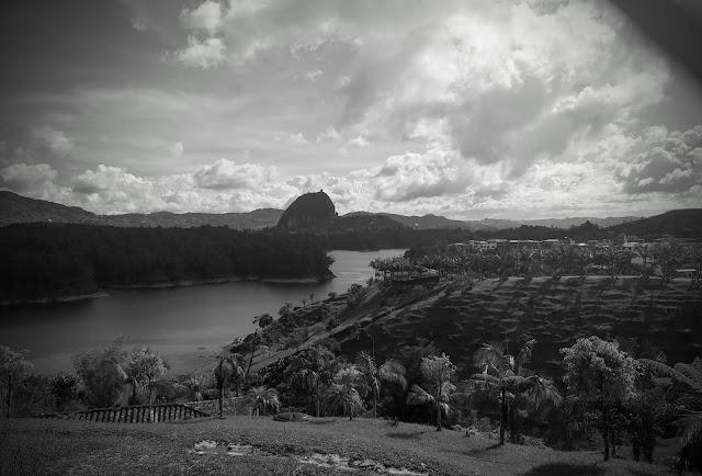 El Peñón de Guatapé, Columbia