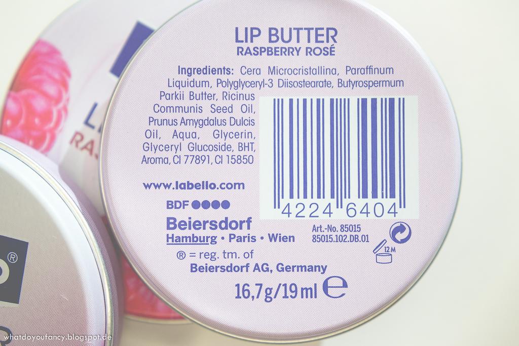 Labello Lip Butter aus dem Döschen in Blueberry Blush und Raspberry Rose