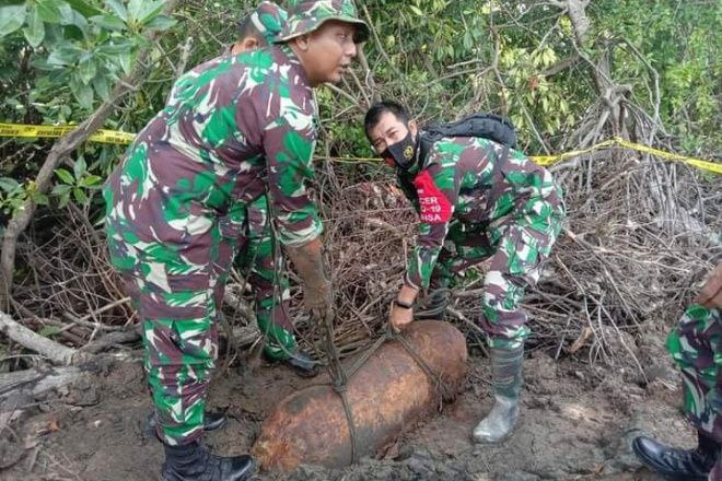 Menegangkan, Detik-detik Evakuasi Bom Peninggalan Perang Dunia 2 di Sibulue Bone