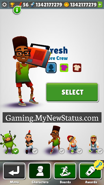 Subway Surfers All Characters Free