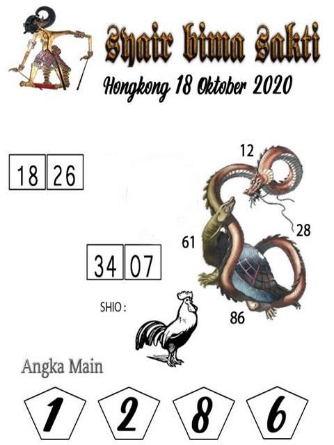 Kode syair Hongkong Minggu 18 Oktober 2020 231