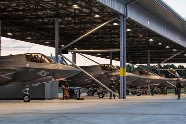 USMC F35B RAF Marham